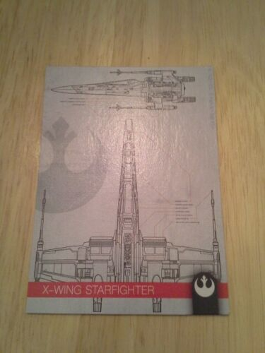 Topps Star Wars Journey to The Rise of Skywalker Schematics singles