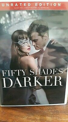 FIFTY SHADES DARKER DVD (UNRATED EDITION )