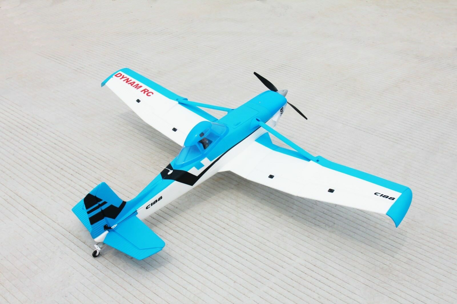 Dynam RC Airplane Cessna 188 bluee 1500mm Wingspan - SRTF