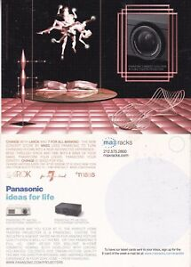 PANASONIC-HOME-PROJECTION-SYSTEM-UNUSED-ADVERTISING-COLOUR-POSTCARD-a