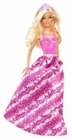 Barbie Fairytale Princess Fashion Doll, Pink And Purple Free Ship