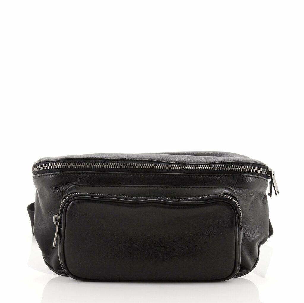 Saint Laurent Subway Waist Bag Leather  | eBay