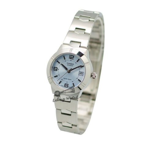 1 of 1 - -Casio LTP1241D-2A Ladies' Metal Fashion Watch Brand New & 100% Authentic