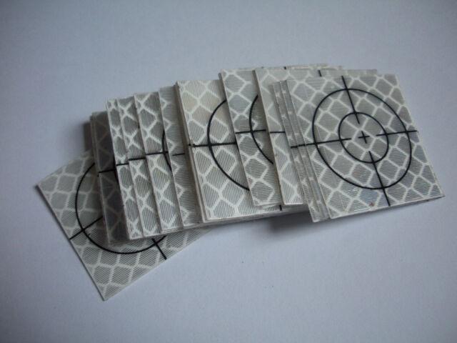 NEW 20pcs Reflector Sheet 20 x 20mm Reflective tape target