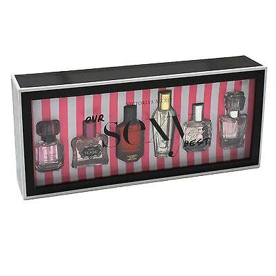Victoria's Secret 6 Piece Eau De Parfum Gift Set .25 Fl Oz Sexy Spray Vs New