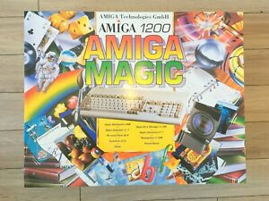 Amiga-commodore-1200-Magic-ELBOX-keyboard-housing-MUST-SEE-NEW
