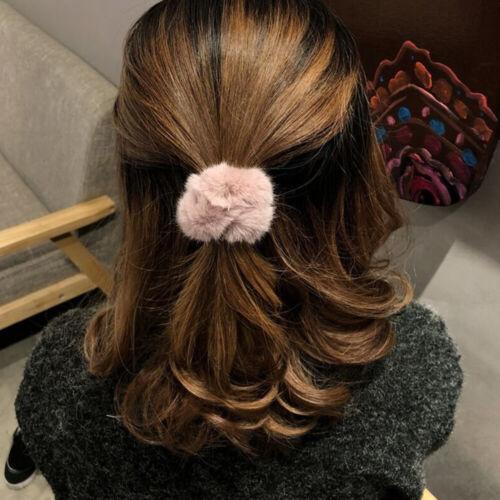 Hair Bands Scrunchy Hair Tie Rope Fashion Hair Accessories Plush Scrunchies