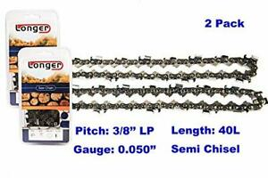 2-Pack-replacement-for-Worx-WG309-Electric-Pole-Saw-10-inch-Chainsaw-Chain