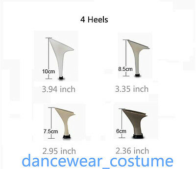 Neu Damen Tanzschuhe Tango Latin Ballsaal Salsa Schuhe Dance Heeled Shoes 3Farbe