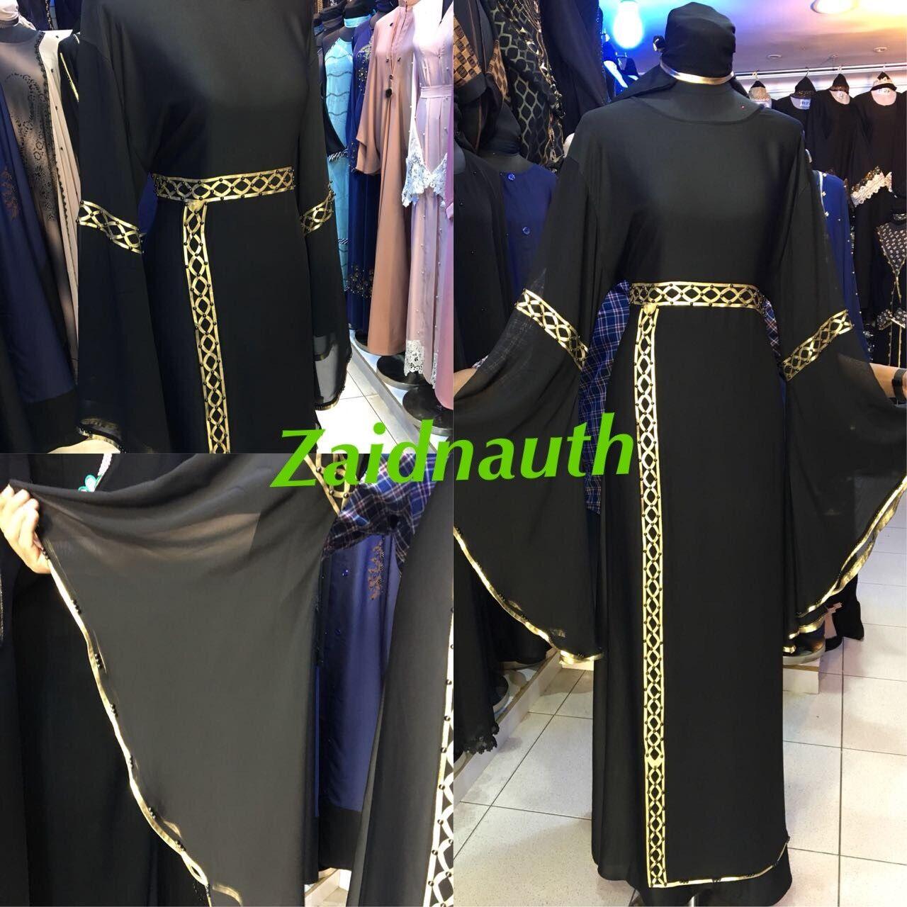Diseño Diseño Diseño Novedoso Abayas Vestido Islámico Wear   Saudi women Vestido size 77c39b