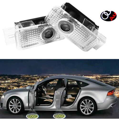 4Stück Für Audi CREE LED Autotür Licht Projektor Pfütze Courtesy Entry LOGO Ligh