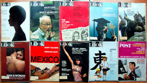 Lot-of-20-1960-1971-LOOK-Mags-Diana-Ross-Abortions-Blacks-amp-Whites-Packers-Draft