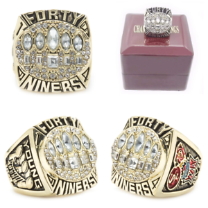 1994 San Francisco 49ers Championship Ring #YOUNG Super Bowl Champions Size 8-13