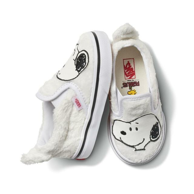 Peanuts Snoopy White Toddler Shoes Size