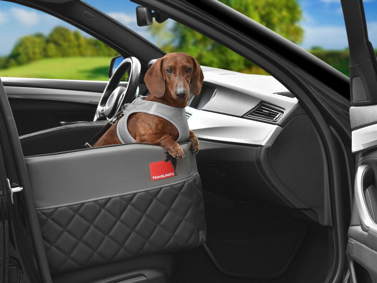 Autohundebett Travelmat® ONE Vordersitz,Schutzmatte,Hundekissen,Padsforall Visco