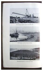 1931-Land-Reclamation-ZUIDERZEE-Construction-PHOTOGRAPHS-Holland-3