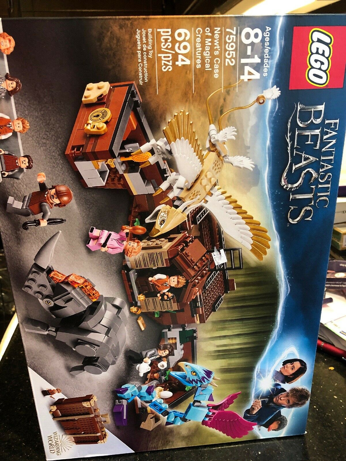 LEGO 75952 Fantastic Beasts Newt's Case of Magical Creatures New Factory Sealed