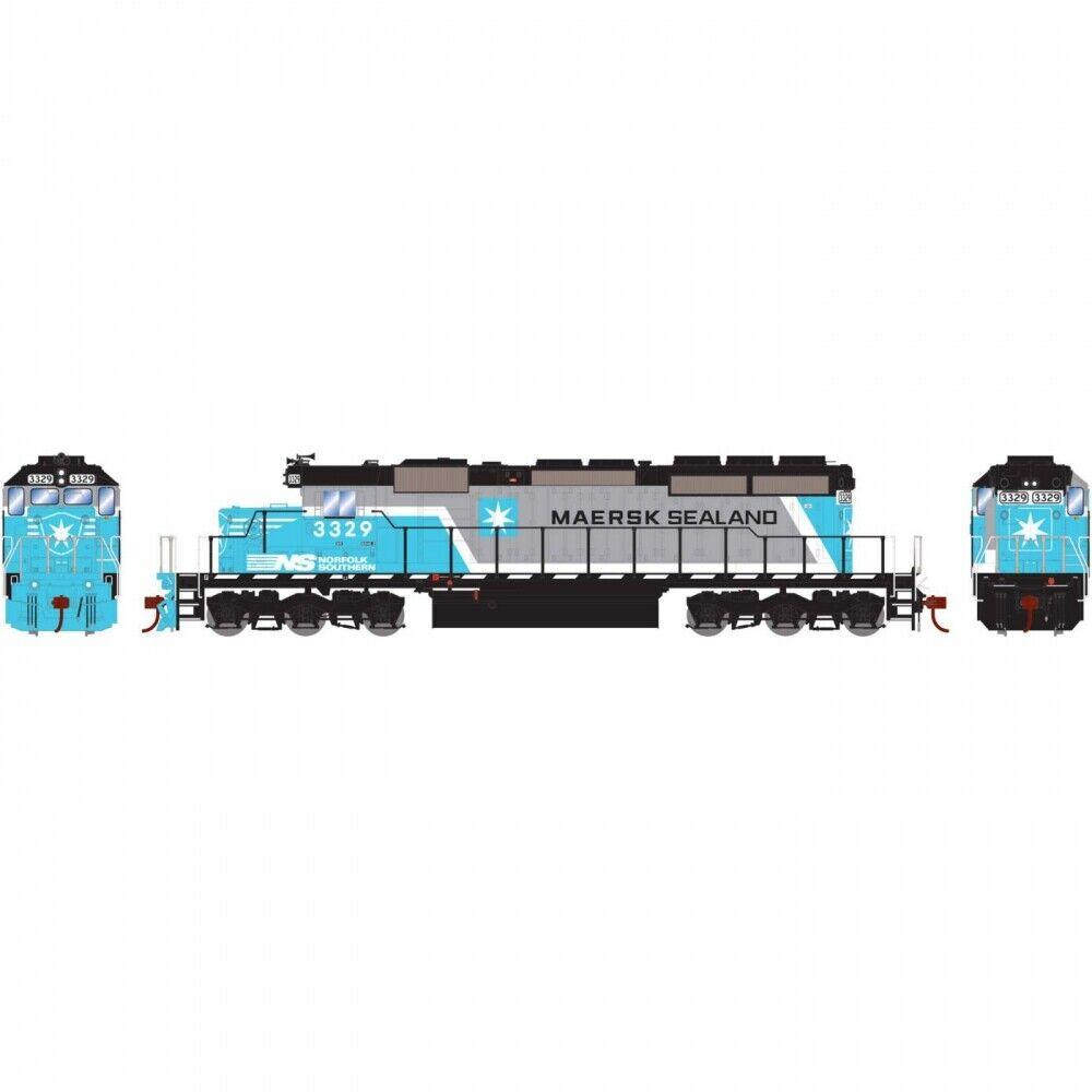 Athearn Ho Rtr SD40-2 con DCC y Sonido NS Maersk  3329 ATH71628