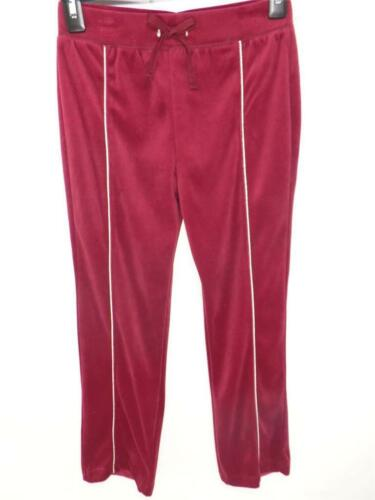 SOFT VELOUR TRACKSUIT CASUAL ATHLETIC PANTS NEW SIZE 14-16 YOUTH GIRLS CUTE