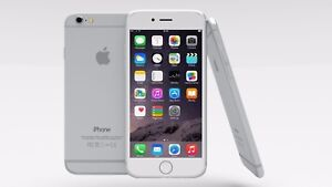 iPhone 6 64gb GSM Unlocked Smartphone silver refurbished
