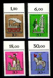 Wofa 1969 - Oberrandsatz ** (Zinnfiguren) Mi.604-07 - München, Deutschland - Wofa 1969 - Oberrandsatz ** (Zinnfiguren) Mi.604-07 - München, Deutschland