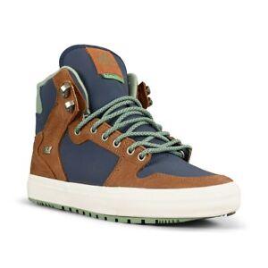 Supra Vaider CW Shoes - Navy / Brown