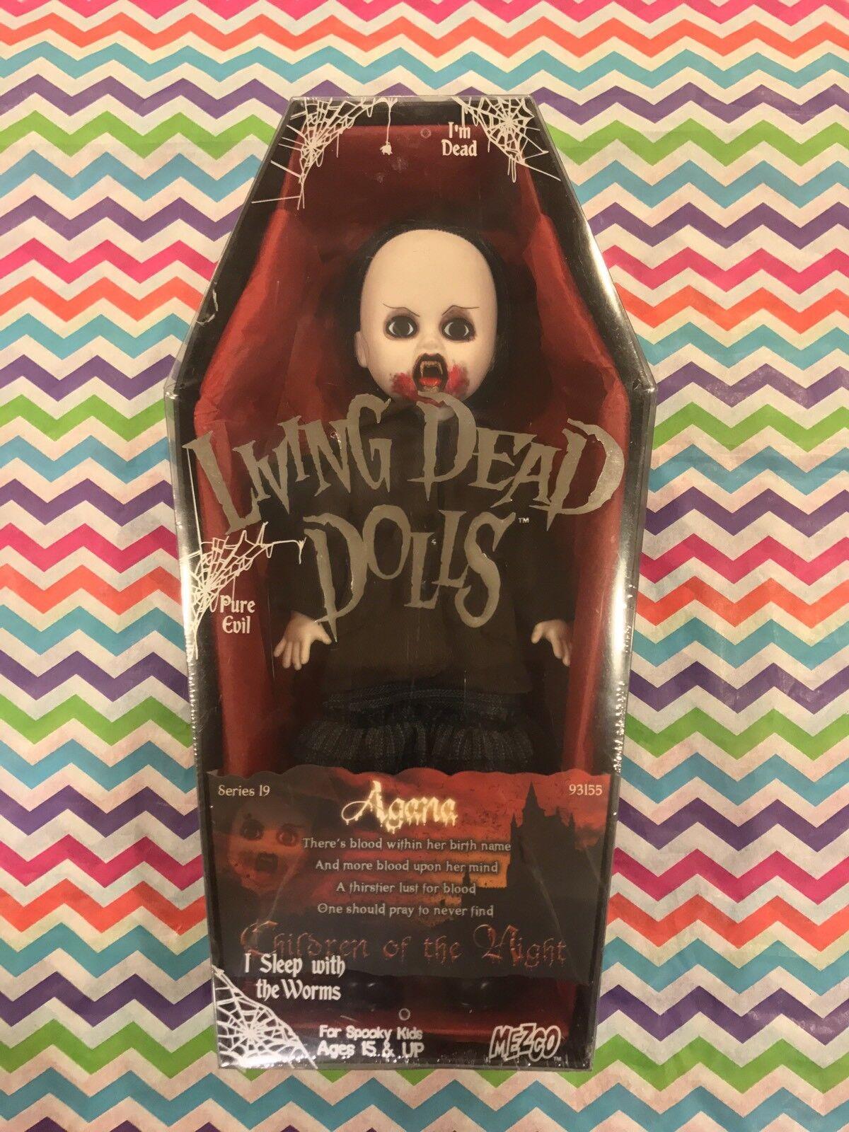 Living Dead Dolls Serie 19 Agana Sellado Envío Gratis