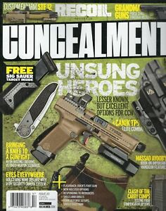 RECOIL Concealment  Issue 20 Unsung Heroes