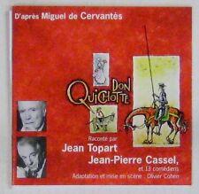 Don Quichotte CD Cervantes Jean Topart Jean-Pierre Cassel