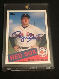 2006-TOPPS-Roger-Clemens-AUTO-AUTHENTIC-Card-181-MINT-RED-SOX-INVEST