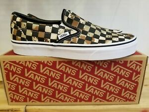 NEW-IN-THE-BOX-VANS-CLASSIC-SLIP-ON-CHECKERBOARD-CAMO-VN0A4BV3V4P-FOR-MEN
