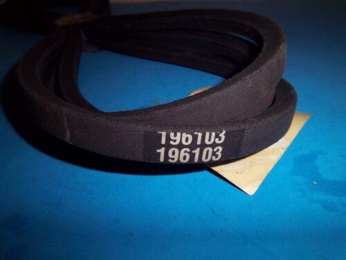 """NEW HUSQVARNA V BELT fits 54/"""" cuts  532196103 196103 OEM T12"""