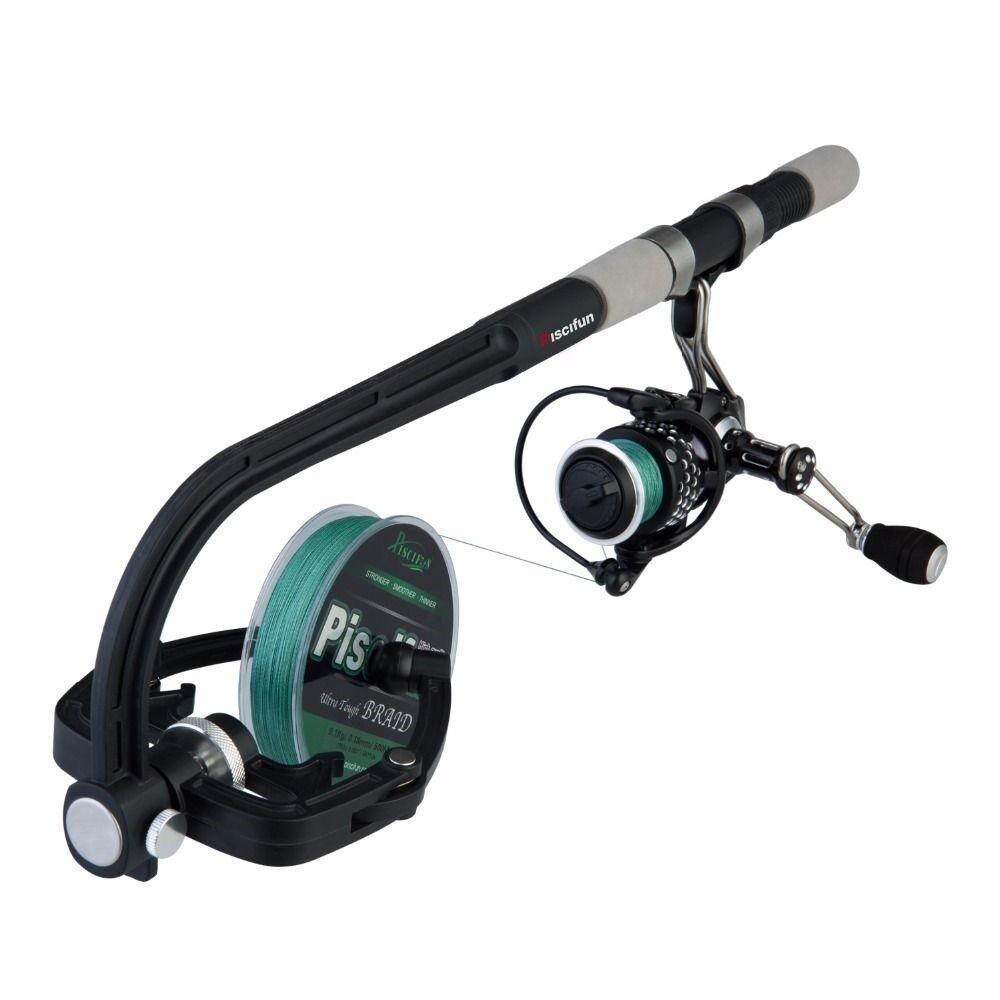 Pesca línea Spooler Hilado portátil línea de Cocherete Caja  de Cebo Enrollador Máquina  punto de venta en línea