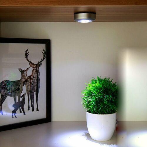 Small Size Clap Sensor Wall Light LED Night Light Battery Power for Closet#F#