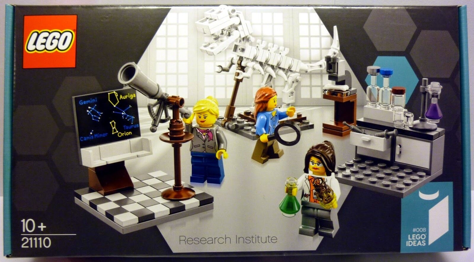 LEGO Ideas Sets  21110 Research Institute - Female/Girl Scientist Cuusoo - New