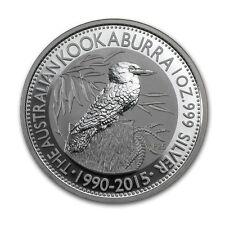 Perth Mint Australia $1 Dollar Kookaburra 2015 1 oz .999 Silver Coin