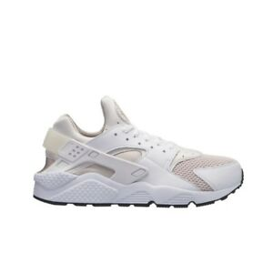 378389423428 Nike Air Huarache Run (White White-Desert Sand-Black) Men s Shoes ...