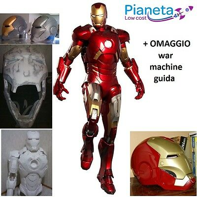 IRONMAN MARK 4 Costume, armatura, avengers SCALA 1:1 INDOSSABILE COSPLAY