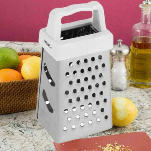 Mini 4 Side Stainless Steel Handheld Grater Mashing 3Hot Tools Kitchen G7Y8