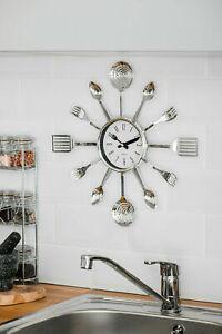 MODERN-CUTLERY-RETRO-WALL-CLOCK-FORK-SPOON-KITCHEN-UTENSIL-HANGING-TIME-PLASTIC