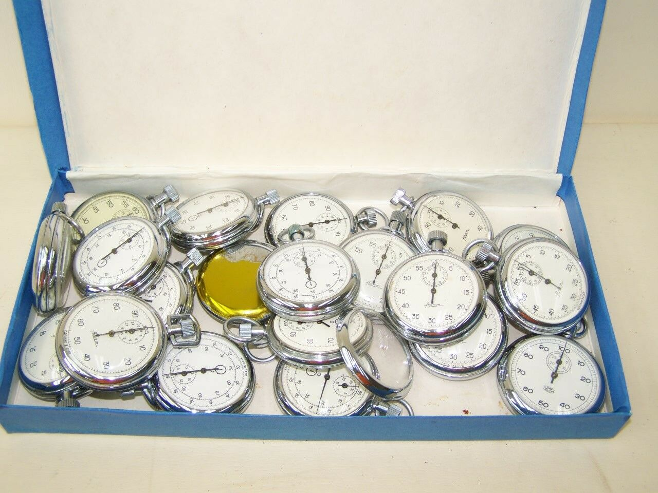 Collection of 20 Rate Monitor Stop USSR, Old Stop Watch
