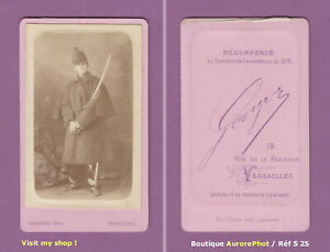 CDV-GEORGES-a-VERSAILLES-MILITAIRE-A-IDENTIFIER-CAVALERIE-1880-S25