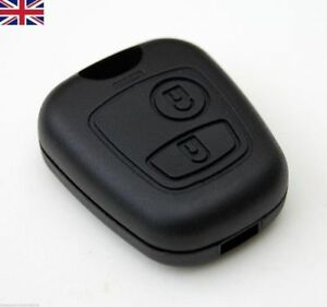 CITROEN-C1-C2-C3-C4-XSARA-PICASSO-2-BUTTON-REMOTE-KEY-FOB-CASE-SHELL-COVER