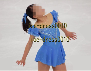 2018 new style Figure Skating competition Dress  Ice Skating Dance Dress 8906  comfortable