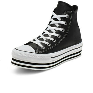 Détails sur Chaussures Converse Chuck Taylor All Star Platform Layer Hi Taille 37 565826C