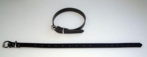 4 Leder Befestigung Riemen Fixriemen 70,0 x 2,0 cm schwarz fixierungsriemen wow
