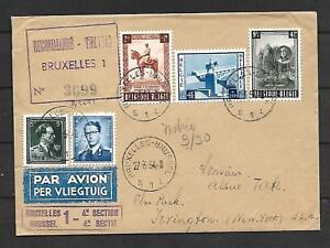Belgium-Sc-B555-557-ON-REGISTERED-COVER-TO-N-Y-ARR-VF