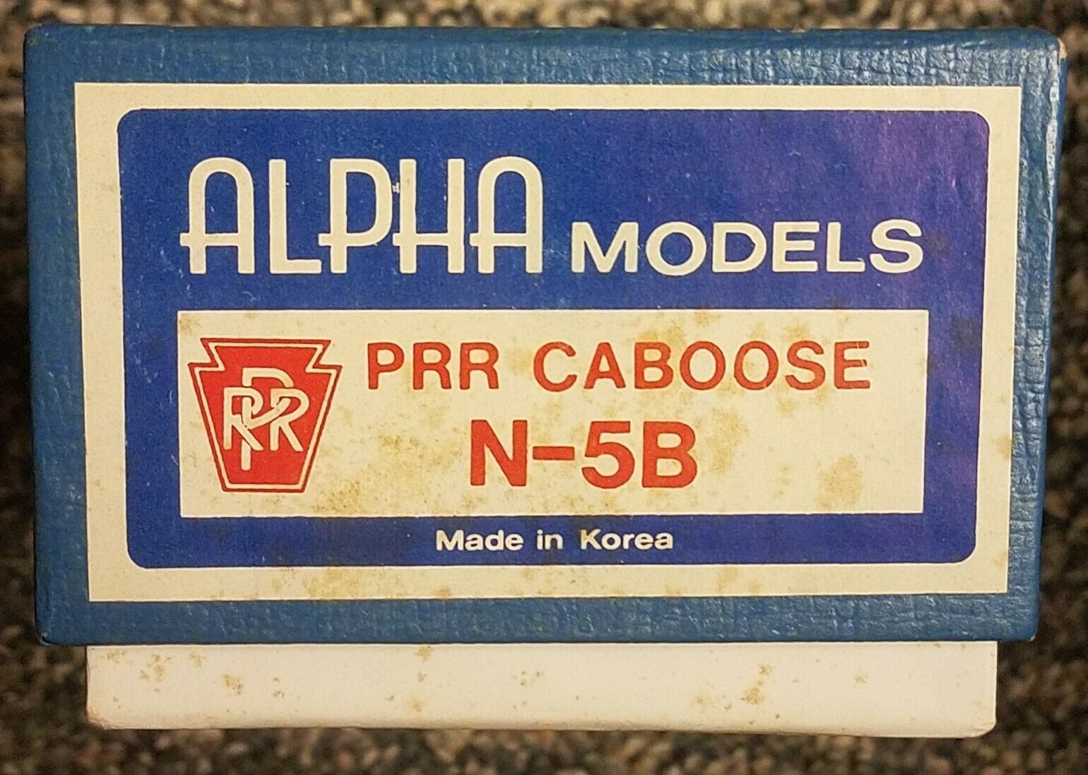 Alpha Modells HO Scale Brass PRR N-5B Caboose Unpainted NOS