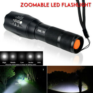 Mini-lampe-torche-tactique-led-CREE-Q5-7-DEL-reglable-Ultra-Puissant-poche-lampe