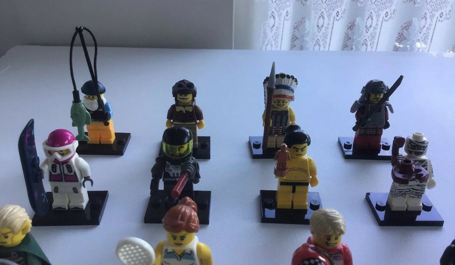 Lego Minifigures Series 3 Set 8803 Complete 16 16 16 Minifigs From 2011 acb295